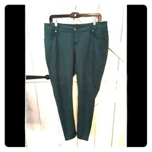 NWOT- 12R Teal Torrid Straight Leg Pant- So comfy!